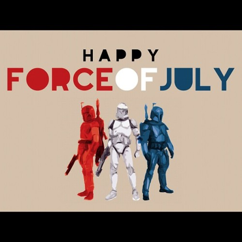 Hope you have a nerdy 4th of July! #starwars #geek (Taken with Instagram)