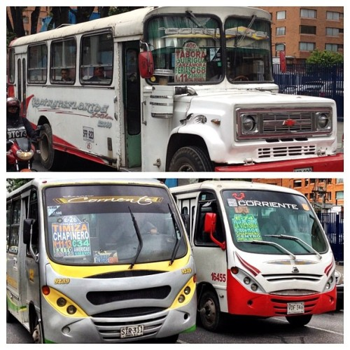 #bogota autobuses (Taken with Instagram at Edificio Acciones y Valores)