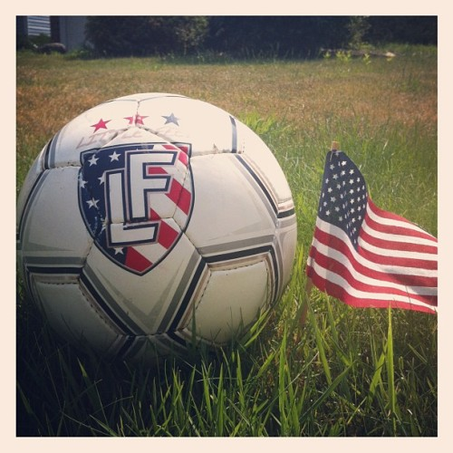 Happy Fourth of July! Celebrate with our USA Ball. We are! (Taken with Instagram)
