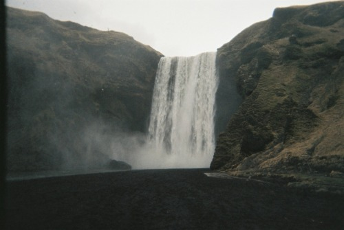 gavinmiller:  Skógafoss! From that 2011 roll of film…