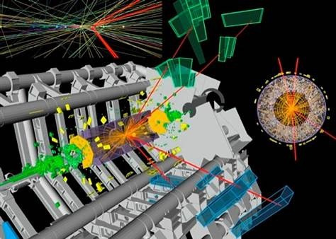 "Milestone in Higgs quest: Scientists find new particle  Scientists say they've discovered a type of particle that's never been seen before — a particle that mostly matches the description of the fabled Higgs boson.  ""This is a very, very preliminary result, but we think it's very strong,"" said Joe Incandela, spokesperson for the CMS experiment at CERN's Large Hadron Collider. Read the complete story."