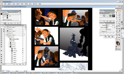Some new in-progress art courtesy of the great Jamar Logan giving a bit of a behind-the-scenes look at his digital workflow! I hope to have some more positive news on this particular front early next week! Please make sure to check out the fundraising campaign at http://www.indiegogo.com/stealth to help bring this project to life and even if you can't support with money, definitely help spread the word! Thanks!
