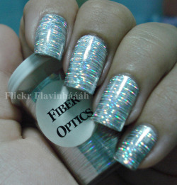 Nail Foil - Fiber Optics on Flickr.