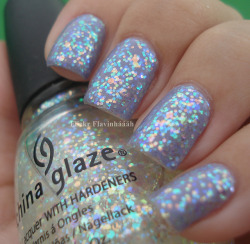 A Lovely Secret 86 - Essence + Snow Globe - China Glaze on Flickr.