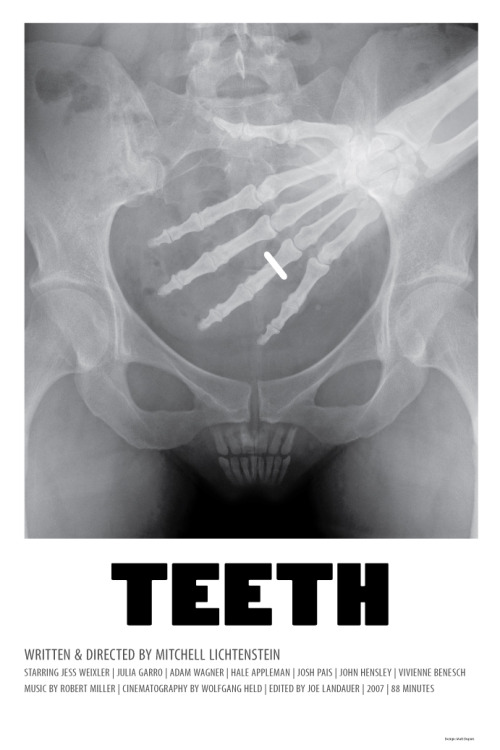 minimalmovieposters:  Teeth by Matt Dupuis