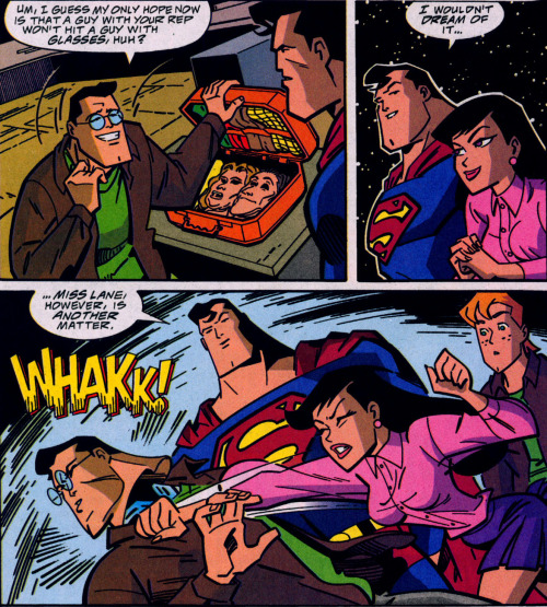 Lois Lane Panel of the Day: ~Superman Adventures #37