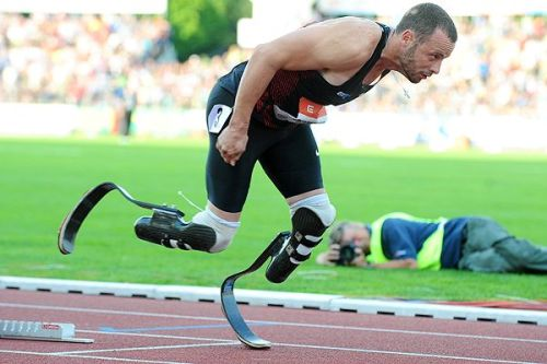 breakingnews:  Oscar Pistorius headed to Olympics AP: South African Oscar Pistorius has been selected to run in both the individual 400 meters and the 4x400-meter relay at the London Olympics and is set to become the first amputee track athlete to compete at any games. Photo credit: Joe Klamar/AFP/Getty Images