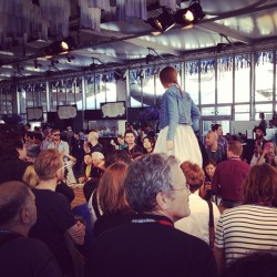 Denim fashion show at Bread & Butter Berlin. #bbb  (Wurde mit Instagram aufgenommen)
