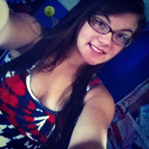 happy 4th of July : b #red #white #blue #america ( : (Taken with Instagram)