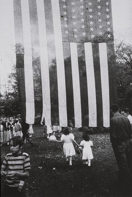 Fourth of July, Jay, NY 1955 | Robert Frank   America from a Swiss perspective.