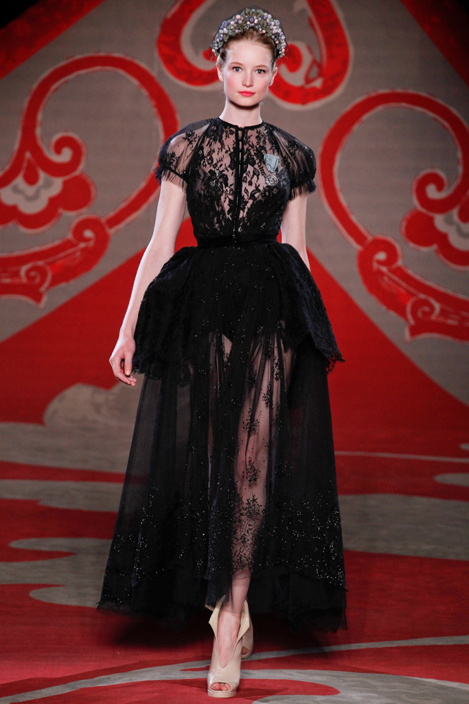 Ulyana Sergeenko Couture Fall/Winter 2012, July 3rd 2012