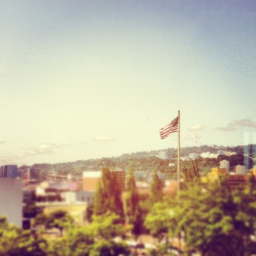 We're in America!  (Taken with Instagram)