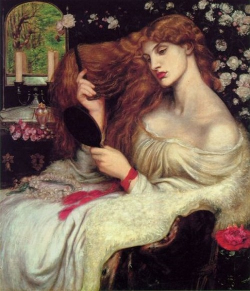 paperimages:  Dante Gabriel Rossetti (English, 1828 - 1882), Lady Lilith