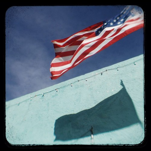 happy independence day! #flag #realTTV #SantaFeTexas (Taken with Instagram)