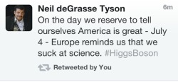 It's official: Neil deGrasse Tyson hates America. OFF WITH HIS HEAD!