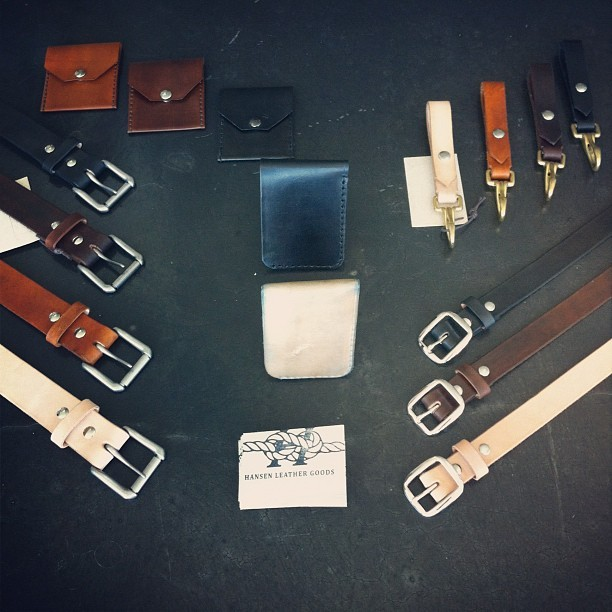 Hansen Leather Goods.