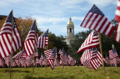 One more Independence Day picture, this one's from Baylor University's campus. -MD
