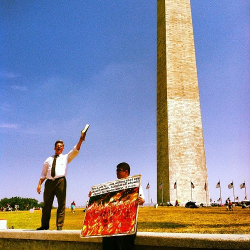DC. #washington #dc #july4th #god #religion #illegal (Taken with Instagram at Washington Monument)