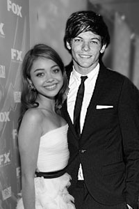 Requested by: les-sens-du-sentiment   Sarah Hyland and Louis Tomlinson.