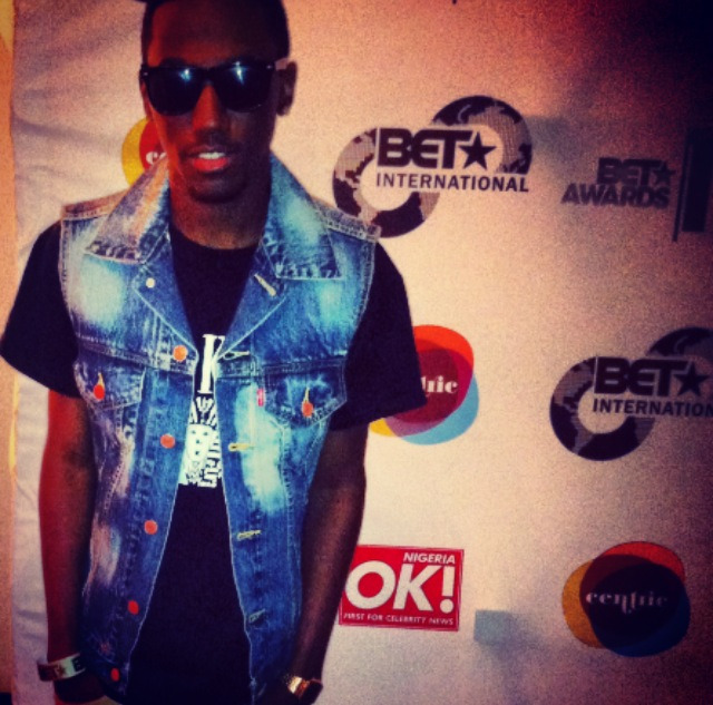 Me At BET International Show http://rosewooddb.tumblr.com/