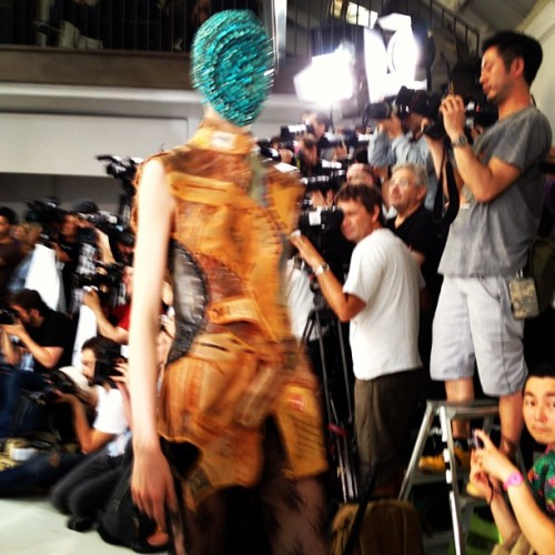 Baseball glove couture at Margiela Artisanal @MMM_Official (Taken with Instagram)