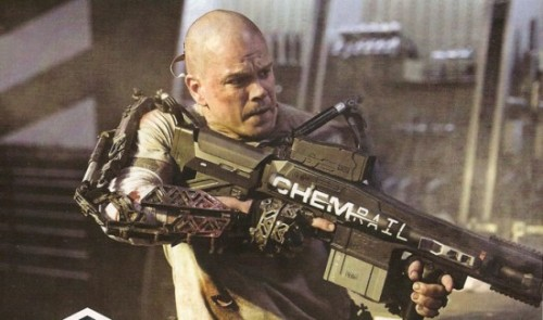 First Official Image of Matt Damon in Neill Blomkamp's 'Elysium' | /Film