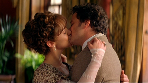 Colin Firth snogging from various movies p.1