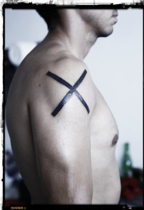 X for me represents all the negative concepts, mostly destruction. Destruction is a form of creation.  Made in Monterrey MX