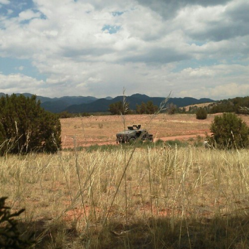 Just another day at work. #colorado #army  (Taken with Instagram)