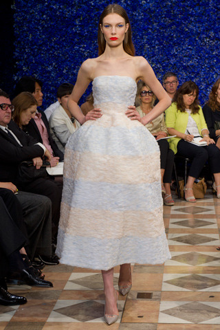 Christian Dior Fall 2012 Couture Collection (Via Style.com)