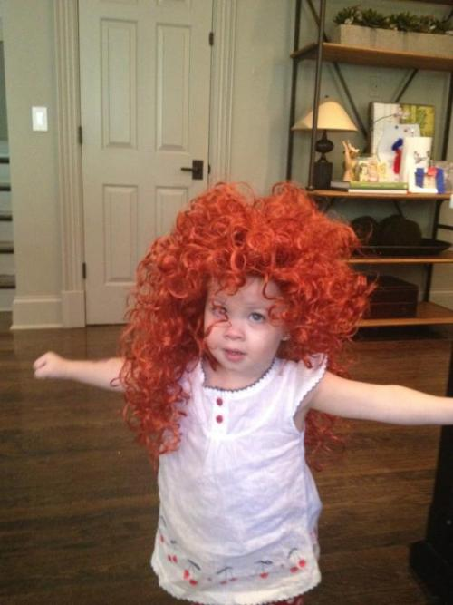 Joe Don Rooney ‏@JoeDonRooney My Lil Merida! She's so Brave! :)