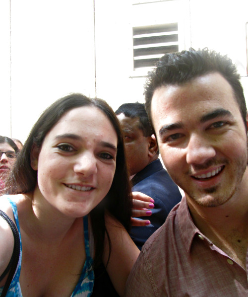 Me and Kevin Jonas this morning! :)