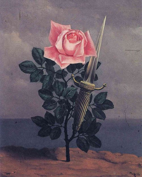 allegorys:  The Blow to the Heart by Rene Magritte