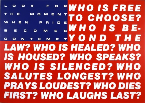Barbara Kruger - Untitled (Questions), 1991