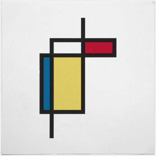 geometrydaily:  #187 What if Mondrian was right? – A new minimal geometric composition each day