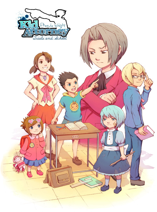 gamingappreciation:  Phoenix Wright: Kid Attorney - Hello-Morphine
