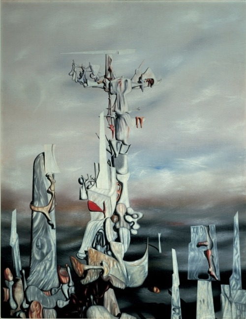 Yves Tanguy - The Wish, 1949.