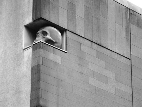 scavengedluxury:  Architecture and mortality. Glasgow, June 2012.