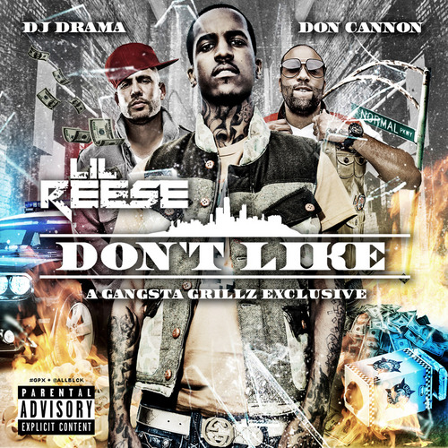 "somanyshrimp:  Lil Reese - I Don't Like (Mixtape, 2012) ""Beef,"" ""Us"" and ""Haters"" are already classics to me (""Haters"" doesn't make an appearance here, I'm guessing they're saving that up for the album and, from what I understand, a Kells feature). Of the new stuff, ""Traffic"" stuck out to me the most; strong tape, better than SD's although not quite at Durk's level imo. Only ten tracks long, you should probably get it.  WE DON'T COUNT MONEY WE WEIGH IT. More importantly, DJ Drama's explanation of the ""BandKamp"" drop »> There are features from Hell Rell and Freddie Gibbs and Johnny MayCash that are all good, too. More rappers should put out mixtapes that are only 36 minutes long."
