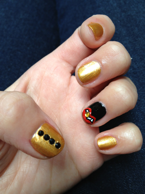 Goldfingerz  SuPa Nails/Rhinariffic Nails/Paul Wall-inspired grill