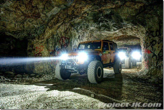 Offroading in an abandoned mine!?  Yes please!