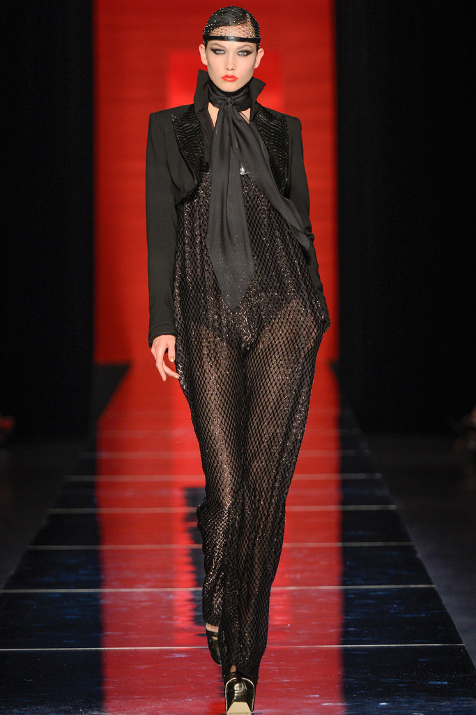 Karlie Kloss - Jean Paul Gaultier Couture Fall/Winter 2012, July 4th 2012