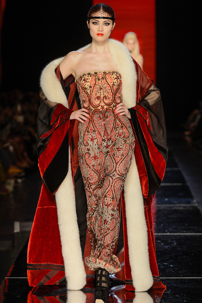Jean Paul Gaultier Couture Fall/Winter 2012, July 4th 2012