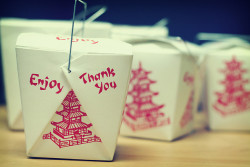 I like Chinese food boxes… the design is wonderful!