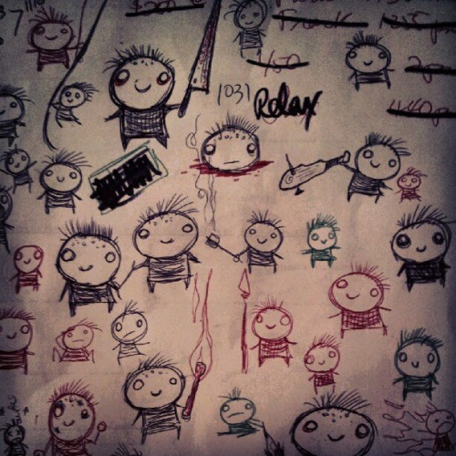 girlgoesgrrr:  Imaginary friends (Taken with Instagram)