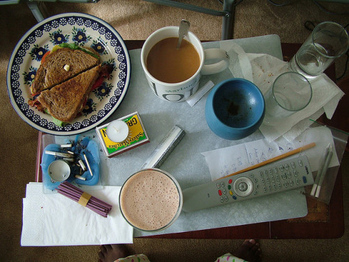 thepostofsomethingelse:  A Perfect Morning by Mizz Amontillado on Flickr.