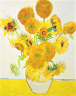 Vincent Van Gogh and yellow