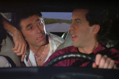 Kramer: Hey Jerry, you ever wear silk underwear?Jerry: No.Kramer: Put that on the top of your list.Jerry: No, not for me. A little too delightful. (via The Hamptons)