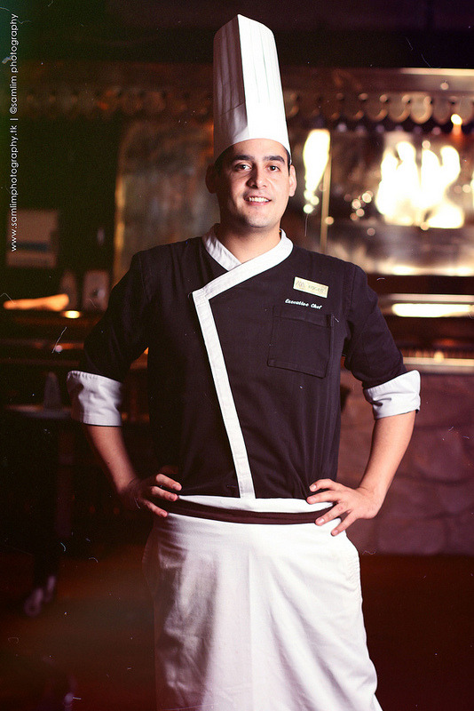 Executive Chef Roger Perez GonzalezThe Rotisserie, Manila Pavillion Hotel  Photo by: Sam Lim  http://samlim.lens.ph http://facebook.com/samlimphotography