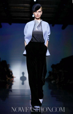 Anagram of the day: ANMARI for ARMANIHaute Couture F/W 2012 in PARIS! We have even more big news to share regarding this girl so stay tuned over the next few days and prepare to be bombarded ♡ ♡